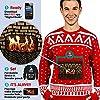 Morph Costume Co - Maglione in stile natalizio, da uomo, taglia S, rosso #2
