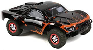 SummitLink Compatible Custom Body Muddy Orange Over Black Replacement for 1/10 Scale RC Car or Truck (Truck not Included) SS-BR-01