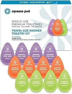 Best single use travel toiletries Reviews