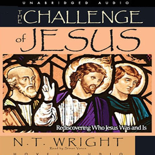 Challenge of Jesus audiobook cover art