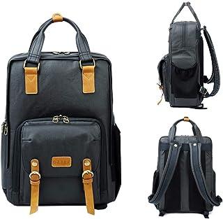 Oztev DSLR Camera Bag Nylon Camera Backpack for Photographers Waterproof with Tripod Position for Men Women (Navy Blue)
