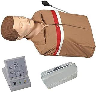 Mannequin Half Lichaam, CPR-model, halflichaams eerste hulptraining model (opblaasbaar), siliconenmateriaal, huidkleurenun...