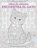 Encuentra el gato - Libro de colorear