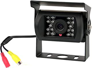 Backup Camera, Reversing Camera, Waterproof Night Vision Wide View Angle Rear View Camera with RCA Connector for RV Camper... photo