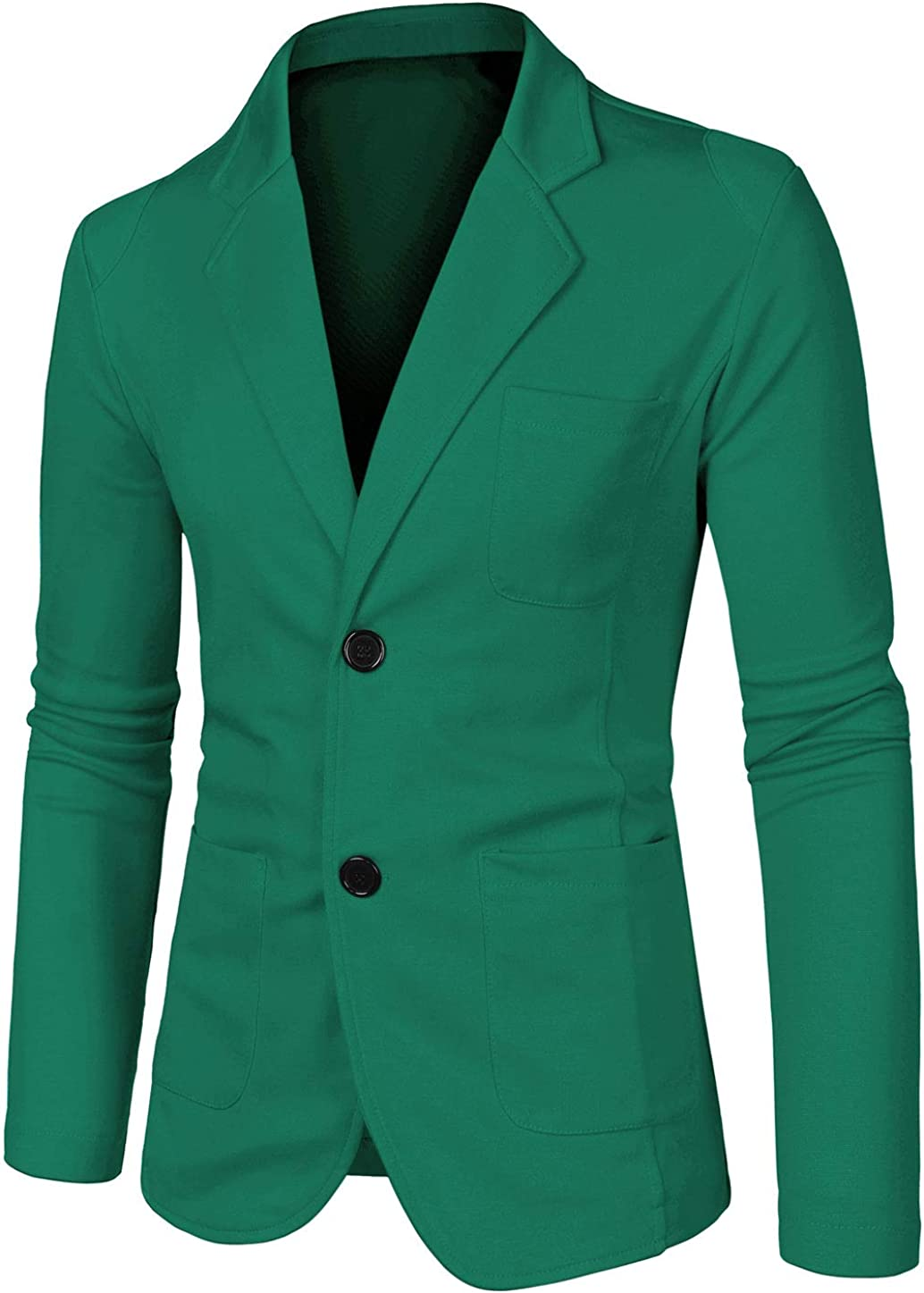 Cheap SALE Start uxcell Men's Jacksonville Mall Casual Sports Coat Slim Fit Card Button Lightweight