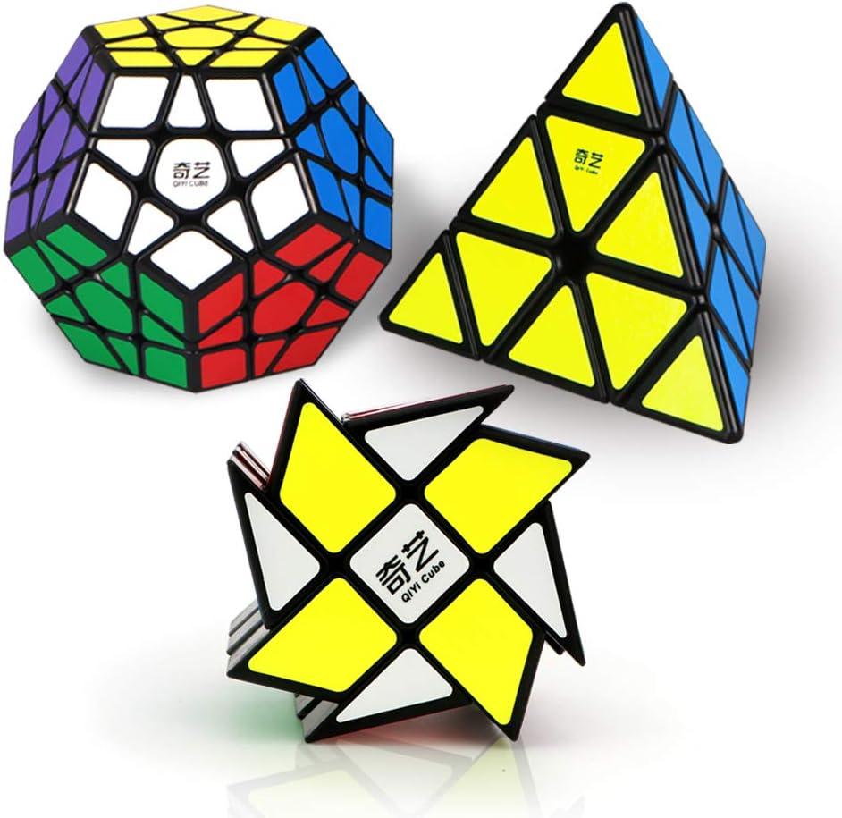 Speed Cube Set New product!! Roxenda Oakland Mall Magic Megaminx of Windm Pyramid