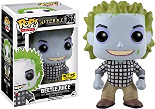 Funko Beetlejuice (Hot Topic Exclusive): Beetlejuice x POP! Movies Vinyl Figure + 1 Classic Horror & Sci-fi Movies Trading Card Bundle [#362 / 11343]