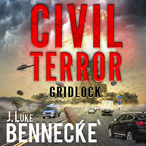 Civil Terror: Gridlock audiobook cover art