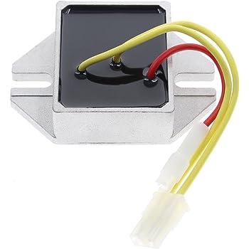 New 12 Volt Regulator Replaces Briggs /& Stratton 790292 DISCOUNT STARTER /& ALTERNATOR