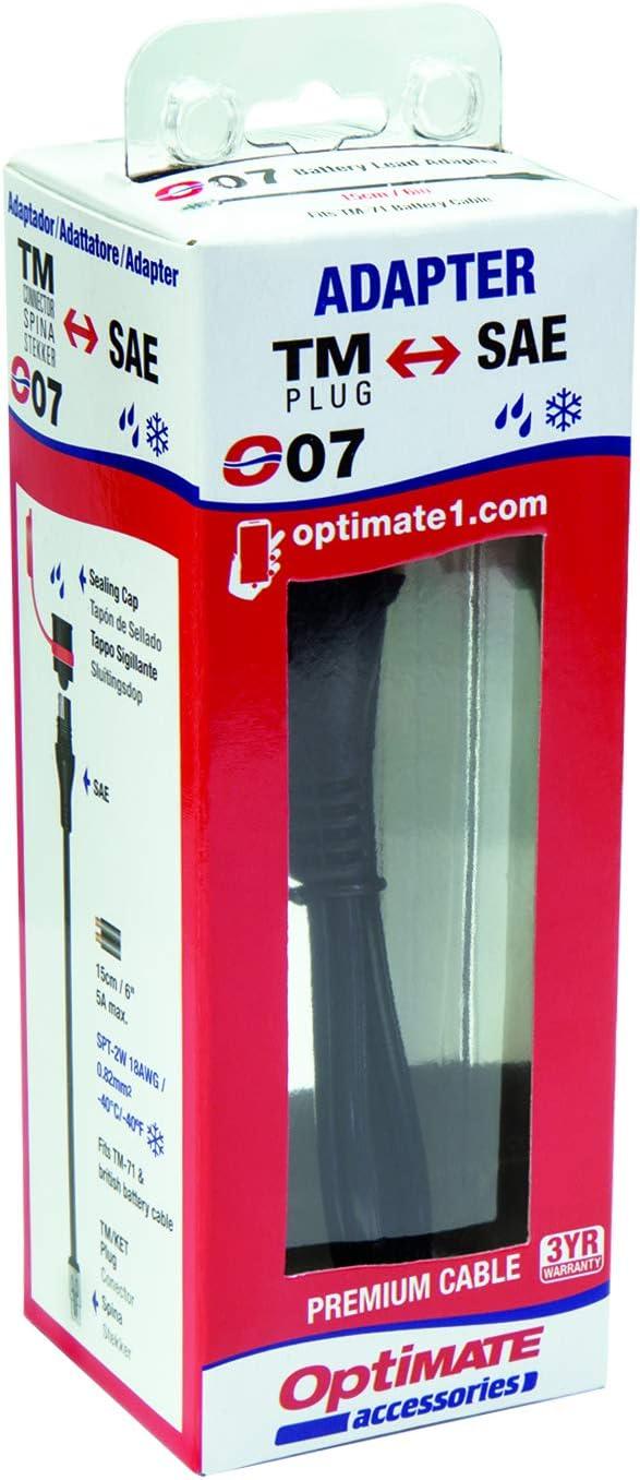 Battery Lead Medium Adapter KET to SAE Tecmate Optimate Cable O-07