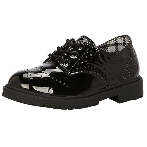 51a0824fd574fc DADAWEN Children s Boy s Girl s Oxford Dress Shoe (Toddler Little ...