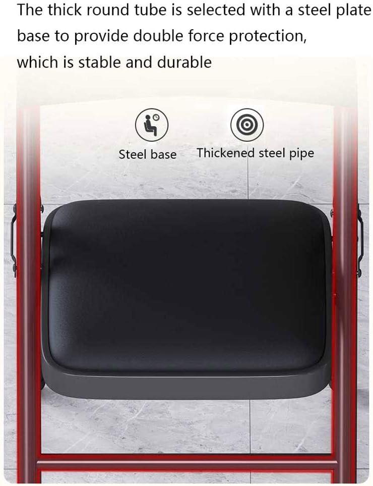 Chaise de bureau en cuir pliant, Tabouret de bureau Ordinateur, Formation Nouvelles Siège for la maison, Salle de réunion, Dortoir, Chambre (bleu/vert) (Color : Blue) Green