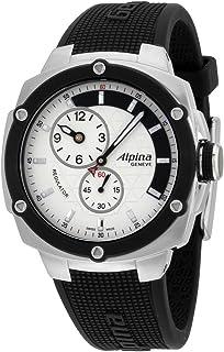 BASHERRY - Alpina Avalanche AL650LSSS3AE6 - Reloj de pulsera para hombre con esfera plateada