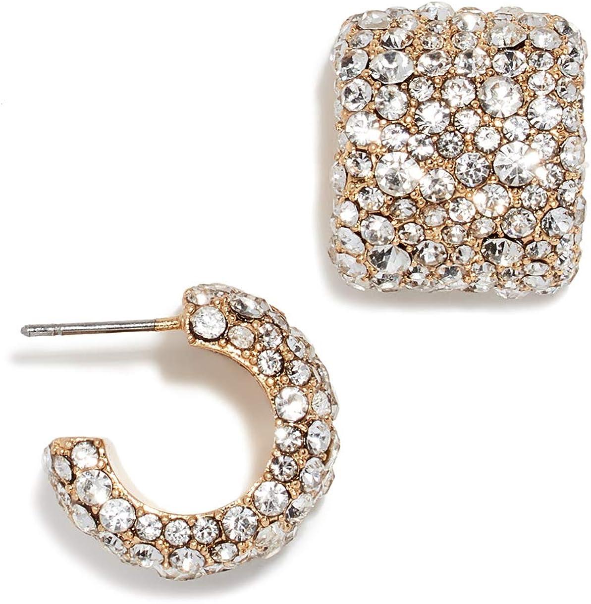 14K Gold Plated Ear Cuff Huggies Hoop Branded goods Regular discount Earrings Gl Dainty Fringe
