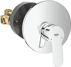 Grohe 29078000 BauEdge, mengkraan met één hendel voor douche, chroom