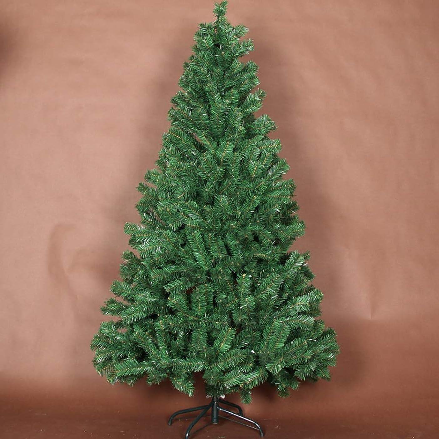 寄付するパスタ依存するBBJOZ クリスマス暗号化緑のクリスマスツリー2.1メートルの休日のシーンの装飾装飾小道具