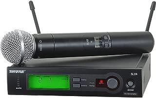 Shure SLX24/SM58 Handheld Wireless System, H19 (SLX24/SM58-H19)