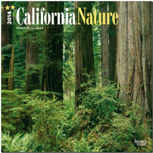 California Nature 2014 - Kalifornische Natur: Original BrownTrout-Kalender [Mehrsprachig] [Kalender]