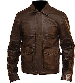 KAAZEE Indiana Jones Harrison Ford Vintage Leather Jacket