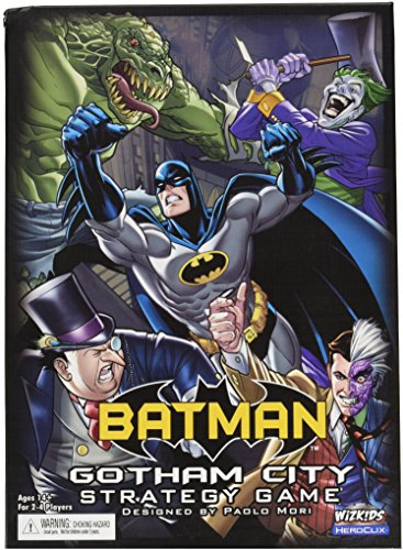 Batman Gotham City Strategy Game Board novità 2013 in Inglese Gioco da Tavolo
