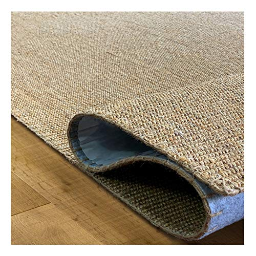 WHAOYEROK Seagrass Rug, Natural Fiber 10mm Braided Foldable Tatami Mattress, For Entry Indoor Living Room Bedroom Japanese Mat, 3 Sizes (Color : D, Size : 80x130cm)