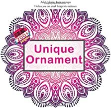 Unique Ornament Adult Coloring Book 200 pages - I believe you can speak things into existence. (Mandala)