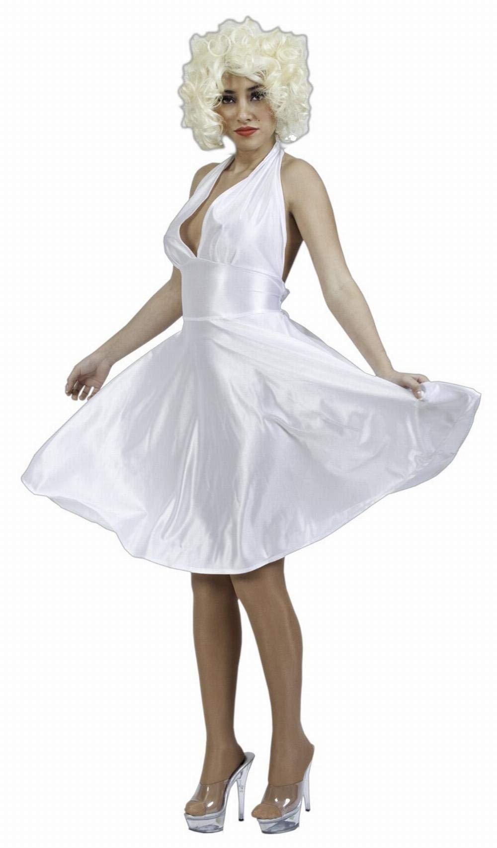 Fyasa 702898 Disfraz de Marilyn, grande: Amazon.es: Juguetes y juegos