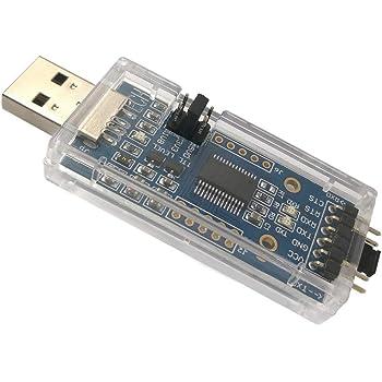 DSD TECH SH-U09C2 USB zu TTL Adapter Eingebauter FTDI FT232RL IC zum Debuggen und Programmieren