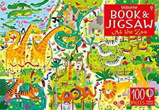 At the Zoo (Usborne Book and Jigsaw): 1 (1474940188) | Amazon price tracker / tracking, Amazon price history charts, Amazon price watches, Amazon price drop alerts