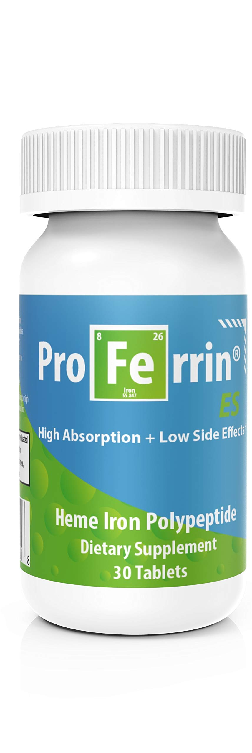 Proferrin ES Heme Iron Polypeptide Dietary Supplement, 30 Count