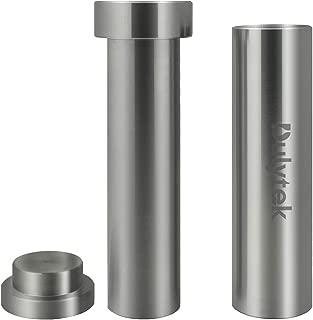 Dulytek Hammer Style Pollen/Herb Press - Cylinder Food-Grade Stainless Steel - Large Size - 4.5
