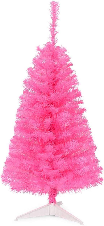 Special price Goplus 3ft Pink Unlit Christmas Premium Tree Perfec Ranking TOP5 Small