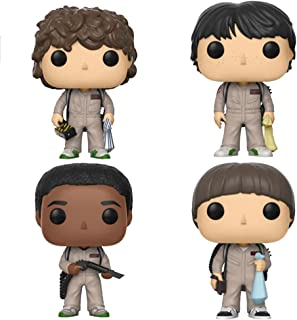 Funko Pop! TV: Stranger Things in Ghostbusters Costumes (Set of 4)