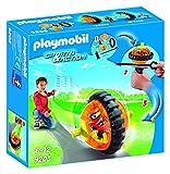 Playmobil Aire Libre-Speed Roller Color Naranja Playset de Figuras de Juguete, 2 x 18,7 x 18,7 cm (Playmobil 9203)
