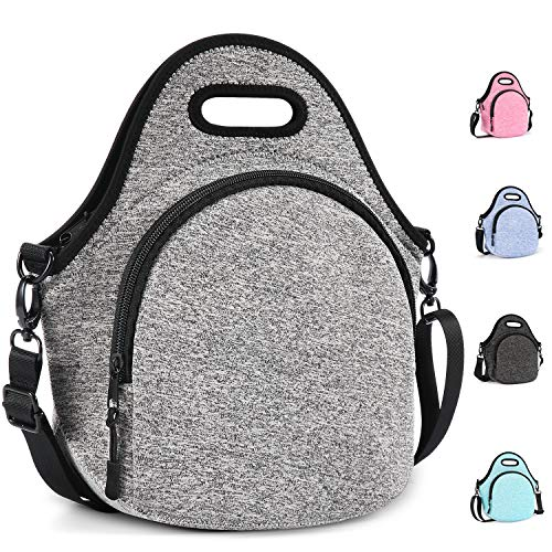 Gowraps Lunch Bags For Women/Men/Kids Neoprene Lunch Tote Bags With