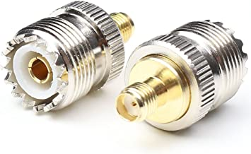 Best sma female to uhf female adapter Reviews