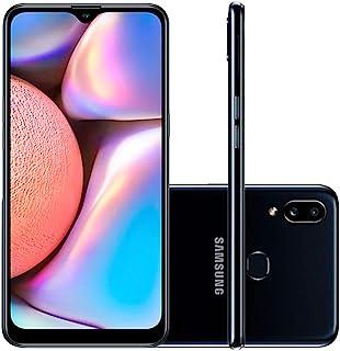 """Celular Samsung Galaxy A10s Preto 32gb Android 9.0 Pie Tela 6.2"""" Camera 13mp"""