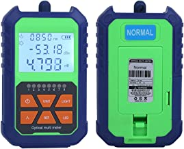 Cable Tester, Accurately Identify Reliable Light Source Meter, Stable Multi‑Function Fiber Light Attenuation Test for Cabl...