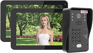 Videoportero con Cubierta para Lluvia, para cámara Villas con IR-Cut.(European regulations)