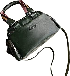 NEW Style Designer Look Hand Bag Shoulder Cross Body Sling Bag Multi Pocket Women PU Leather Rup Art