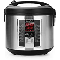 Comfee MB-M25 20 Cup (Cooked) Professional Digital Rice Cooker with 12 Digital Cooking Programs