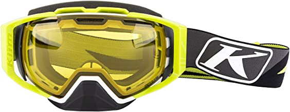 KLIM Oculus Goggles (Dissent/Green with PHOTOCHROMIC Yellow to Smoke)