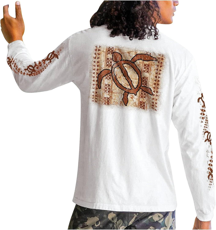 Men's Sweatshirts Fashion Long Sleeve Tee Shirts Graphic Slim Casual Tops Crewneck Printed Pullove Blouse
