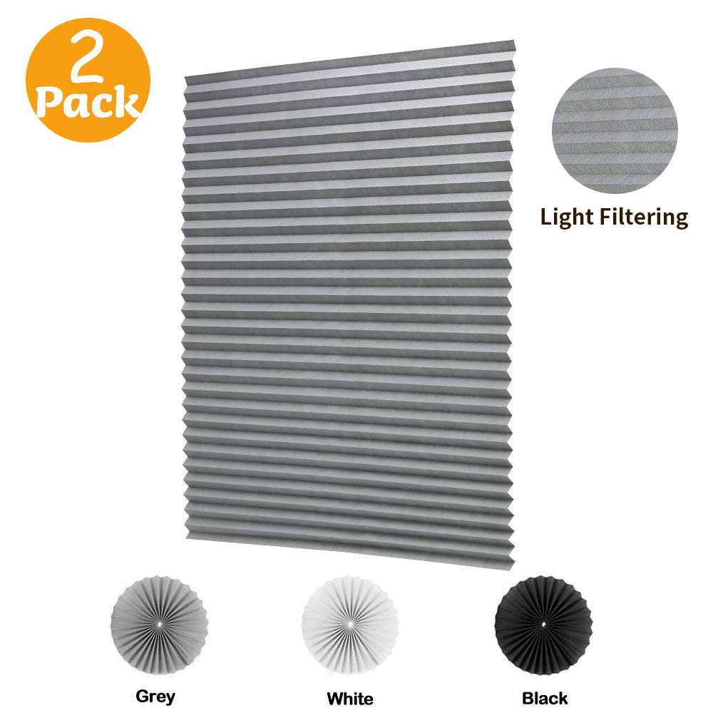 LUCKUP Cordless Filtering Pleated Install