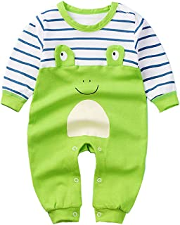 SeClovers Baby Cute Jumpsuit,Pajamas-Toddler Long Sleeve Bodysuit