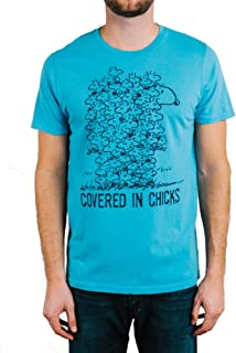 Mens Snoopy Covered in Chicks Tee Shirt