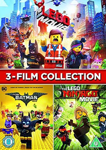 LEGO: 3 Film Collection [LEGO Movie/LEGO Batman Movie/LEGO Ninjago Movie] [DVD] [2018]