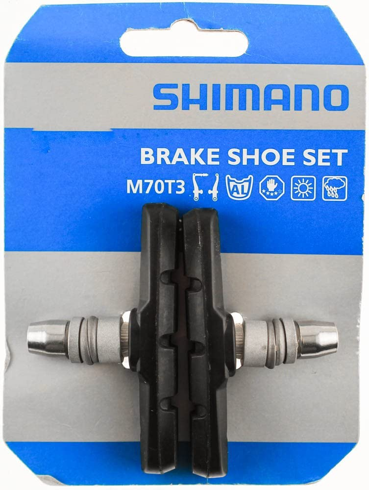 SHIMANO Deore LX Bicycle Manufacturer OFFicial shop safety V-Brake Pads Pair - Y8BM9810A