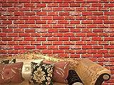 Authentique Mur de pierre réaliste simili Effet relief texturé papier peint Effet...