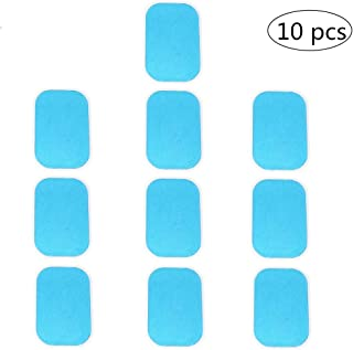 Beauty Plus 10PCS of ABS Trainer Replacement Gel Pads Abdominal Trainer Accessories Mobile-Gym Smart Fitness EMS Fit Boot Toner Gel Sheets (2 pcs/pack, 5 packs/set)